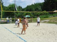 Beachvolleyball-Platz